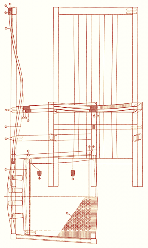 Dining Chair Drawing