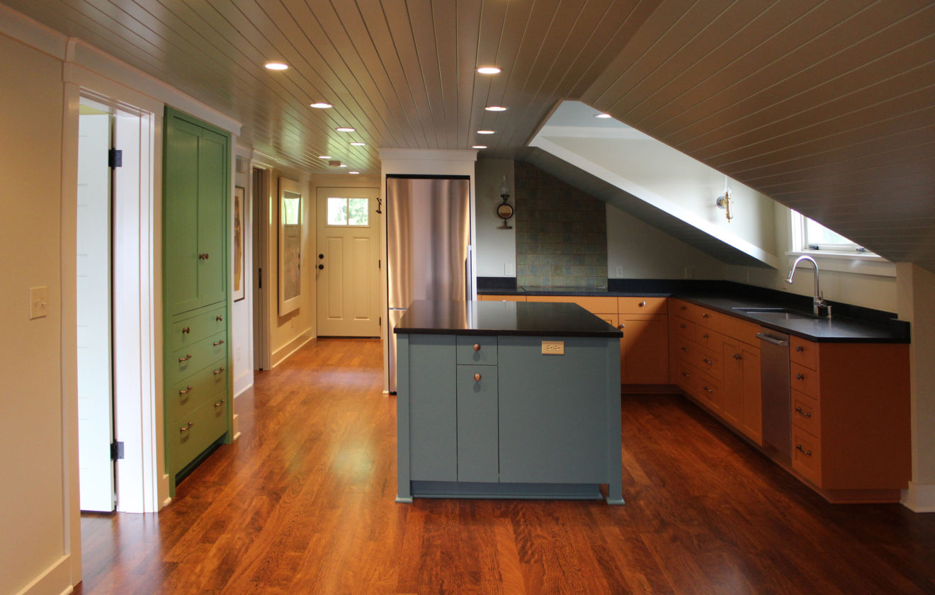 Cabinets For Historic Lake Union Renovation