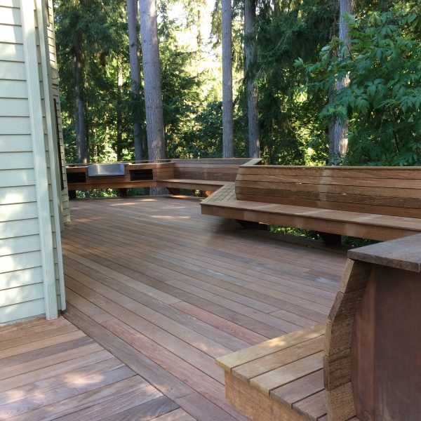 ipe deck and benches