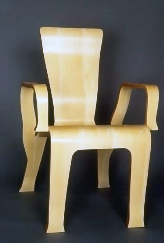 Holly Veneer Chair