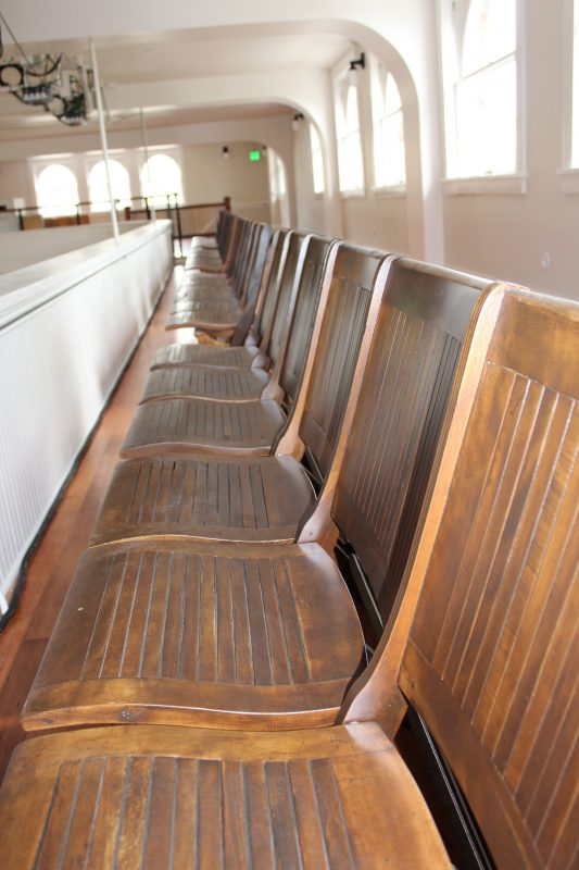 Refurbished Beechwood Auditorium Seating